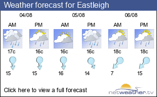 Weather forecast for Eastleigh