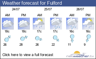 Weather forecast for Fulford