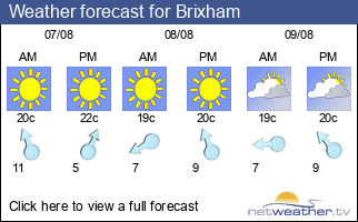 Weather forecast for Brixham