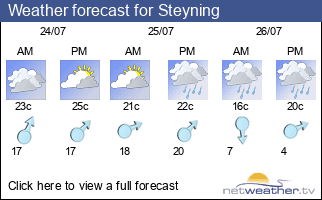 Weather forecast for Steyning