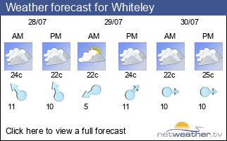 Weather forecast for Whiteley