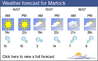 Weather forecast for Martock