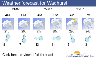 Weather forecast for Wadhurst