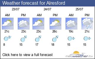 Weather forecast for Alresford