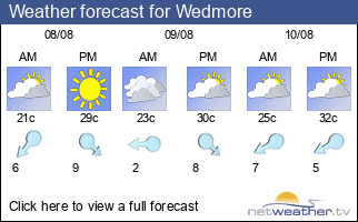 Weather forecast for Wedmore