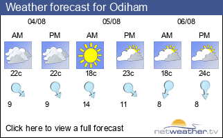 Weather forecast for Odiham