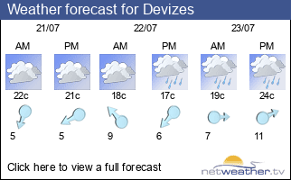 Weather forecast for Devizes