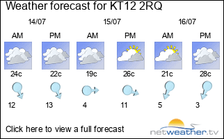Weather forecast for the UK - Netweather.tv