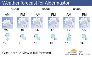 Weather forecast for Aldermaston