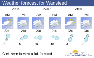 Weather forecast for Wanstead
