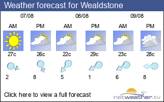 Weather forecast for Wealdstone