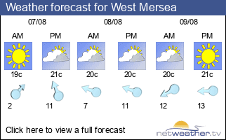 Weather forecast for West Mersea
