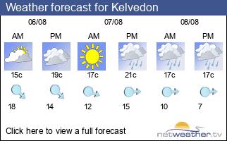 Weather forecast for Kelvedon