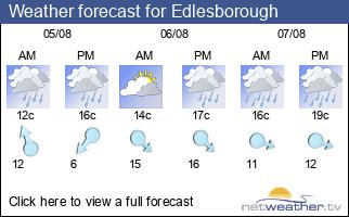 Weather forecast for Edlesborough