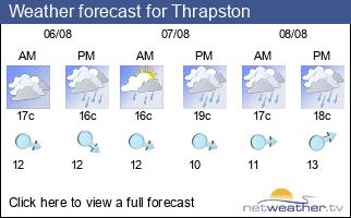 Weather forecast for Thrapston