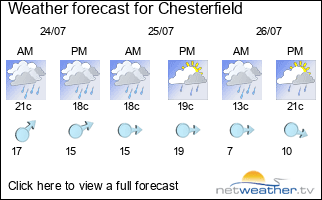 Here Is The Three Day Forcast For You But If You Need More Than The Next Three Days Chesterfield Weather Then You Can Visit Our Friends At