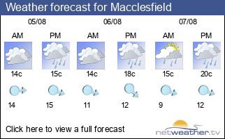 Weather forecast for Macclesfield