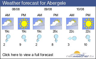 Weather forecast for Abergele