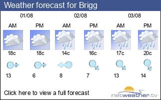 Weather forecast for Brigg