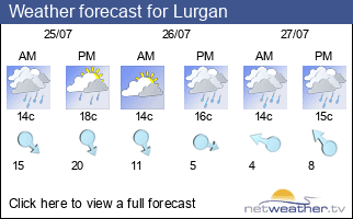Weather forecast for Lurgan