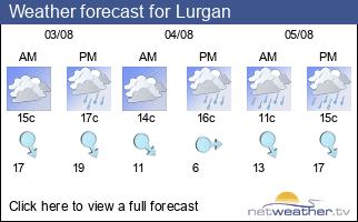 Weather forecast for Lurgan