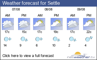 Weather forecast for Settle